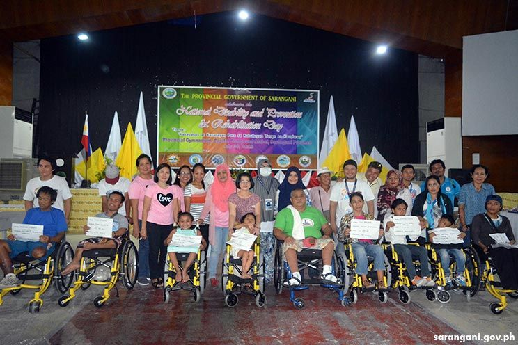 Free wheelchair for PWDs