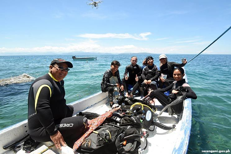 Diving in Sarangani Bay