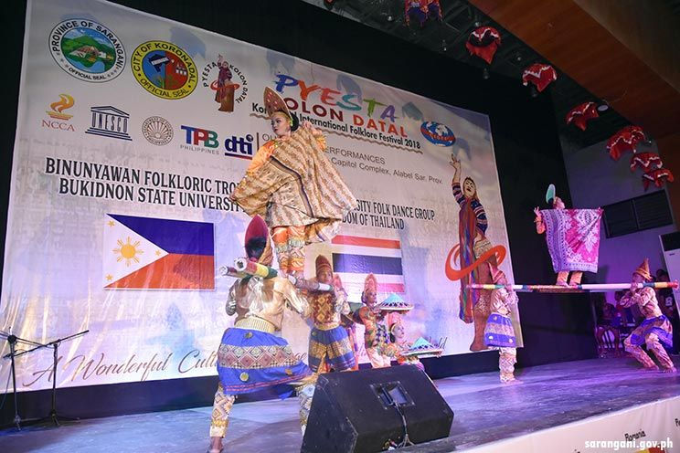 IOFF presents Philippine cultural dance