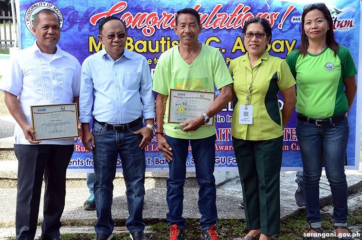 Maitum cites national awardees for Best Volunteer Group