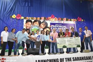 Malungon top awardee at Provincial Children's Congress