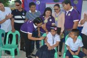 Ceremonial immunization kicks off