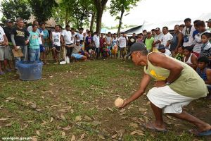 Traditional games in Binuyugan