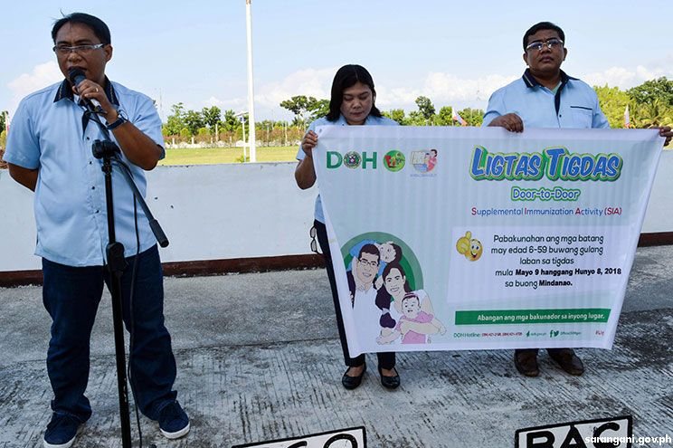 Free Ligtas Tigdas immunization starts on May 9