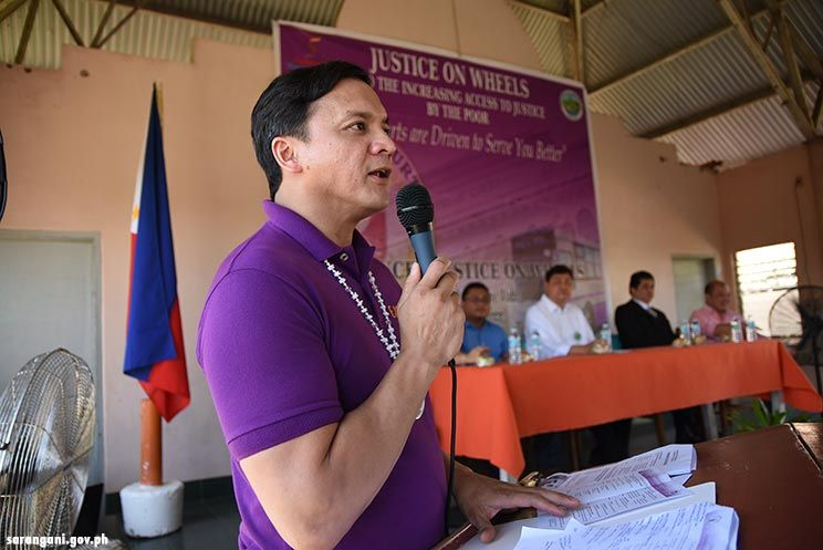 Sarangani pioneered Justice on Wheels
