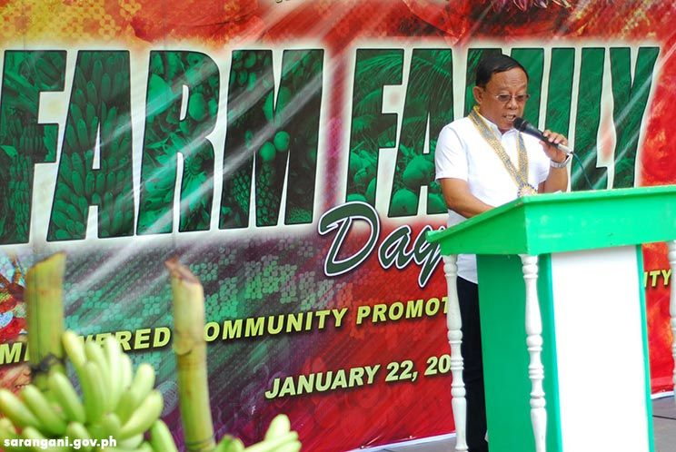 Mayor Balazon opens Farm Family Day