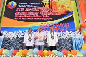 SOCOTECO thanks Gov. Solon