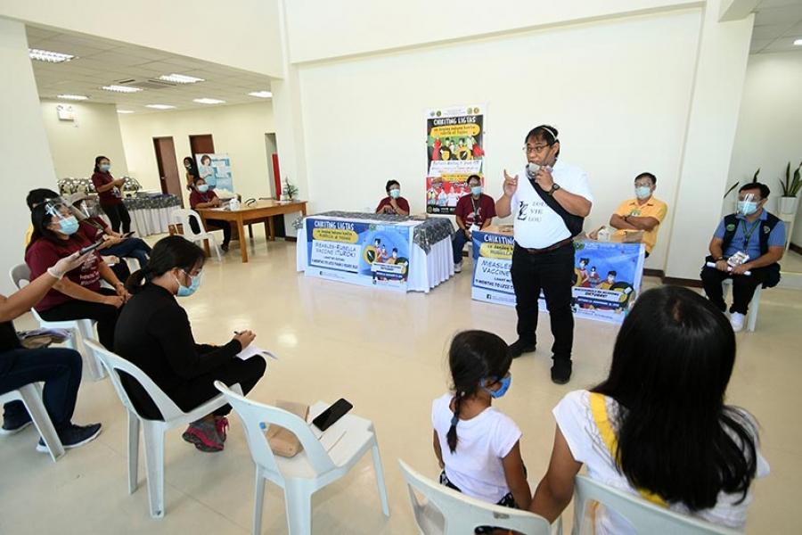 Sarangani gears up for nationwide Measles-Rubella vaccination activity