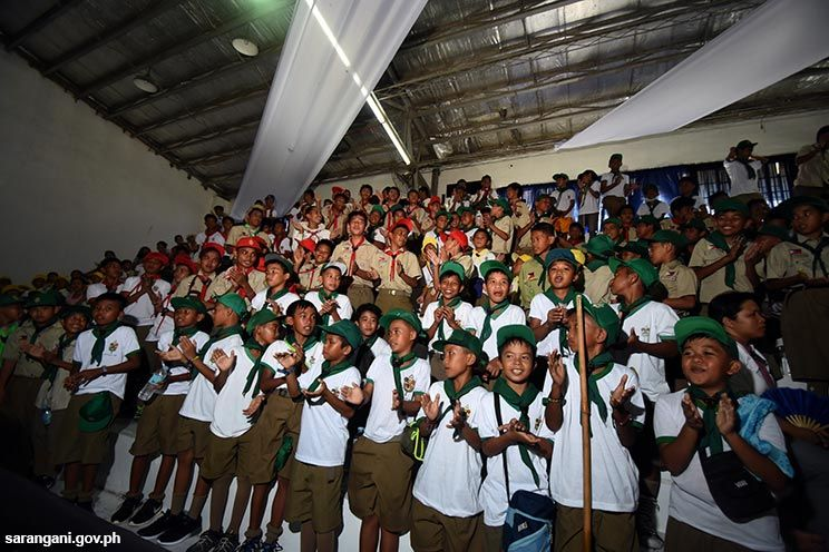 Jamboree for Sarangani scouts