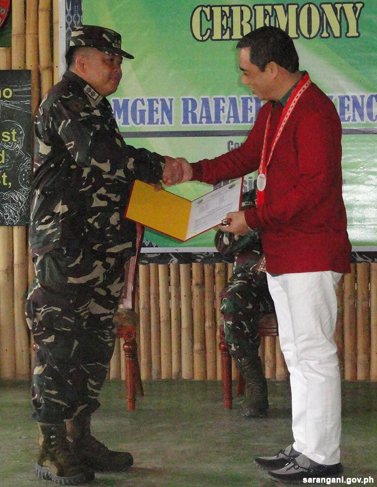 Sarangani commends outgoing battalion commander