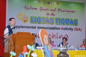 Health Sec. Duque launches immunization program