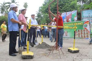Calabanit-E. Alegado concrete FMR breaks ground