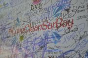 I Love Clean Sarbay Pledge Wall