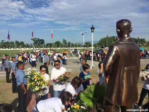 Capitol department heads, BM Tobias pay tribute