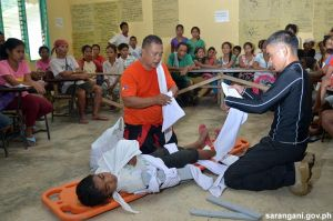 Villagers learn first aid basics