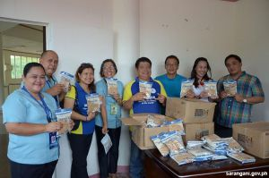 Rice for malnourished kids from KIWANIS