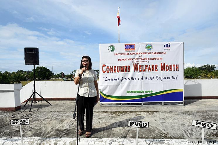October is National Consumer Welfare Month