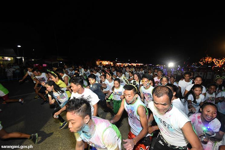 Bangsi Night Color Run starts