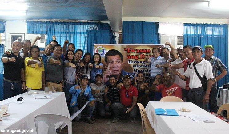 Malungon supports President Duterte
