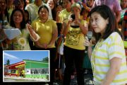 PNoy's sister turns over classrooms in 3 Sarangani towns