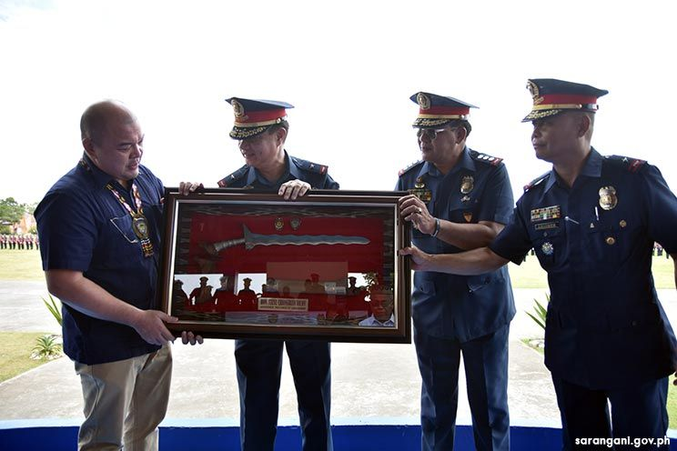 Police chief thanks Gov. Solon