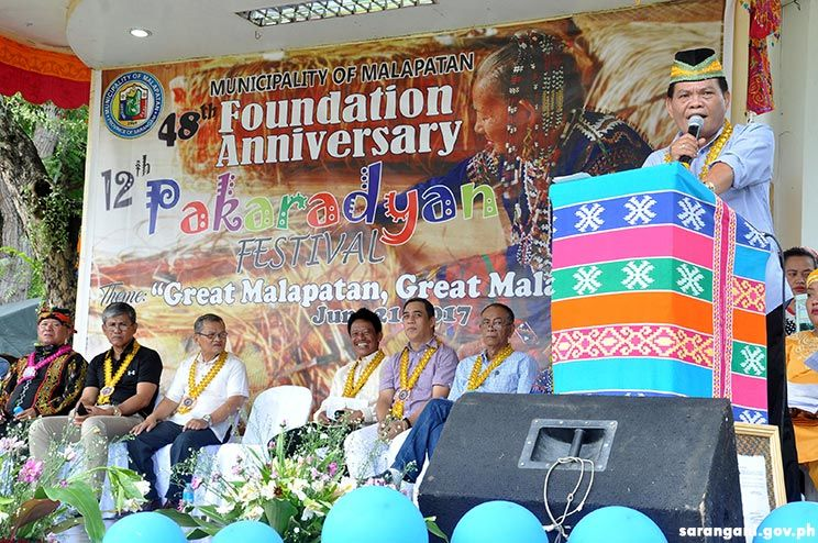 Mayor Singcoy thanks Sarangani leaders