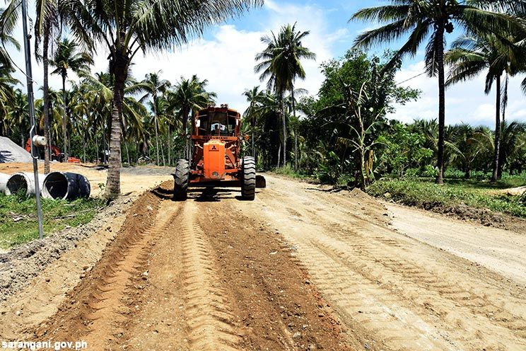 Concreting of Sarangani road networks underway