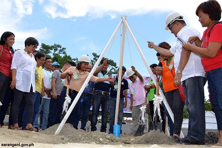DPWH builds 3 projects in Maitum school