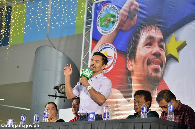 Pacquiao thanks everyone