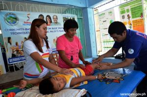 Cerebral Palsy patients assisted