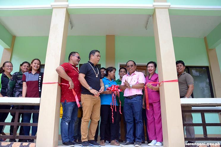 Maitum opens new health center