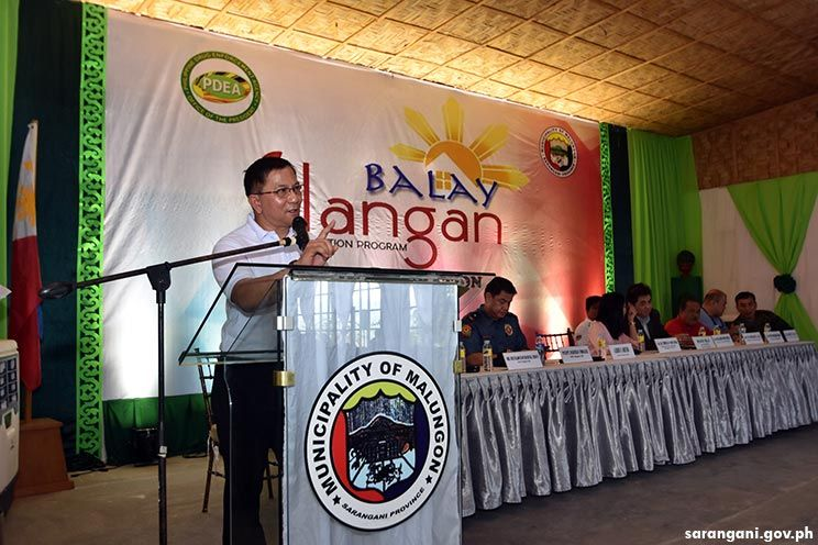 Inauguration and Caravan of Balay Silangan