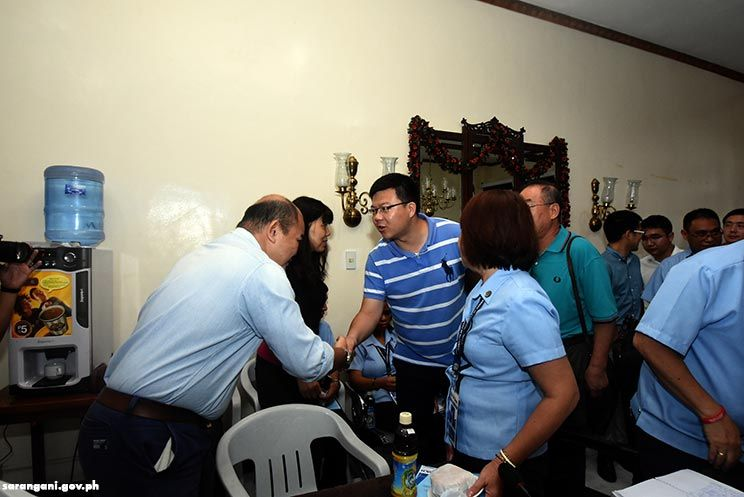 China engineering team visits Sarangani