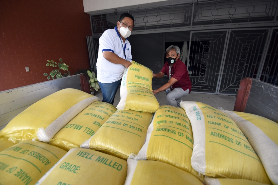 Rice donation received by Sarangani Province