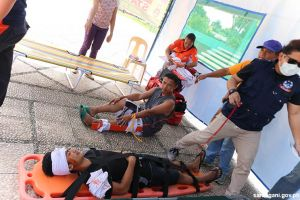 Kiamba joins nationwide quake drill