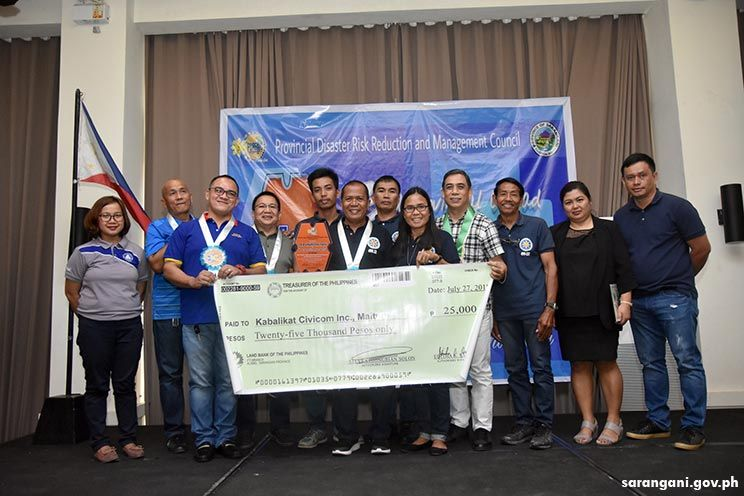 Maitum's Kabalikat Best Volunteer Group