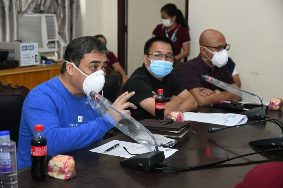 DokVice De Peralta takes up PDRRMC aid to municipalities