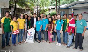 Rice for barangay nutrition