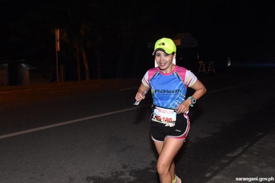 Ultramarathon female winner