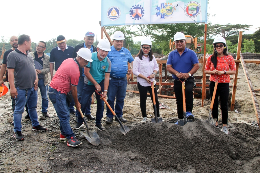 P30M Regional Evacuation Center to rise in Malungon