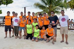 Sarbay beach football champion from Tacurong