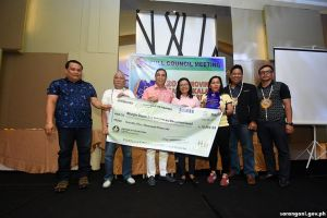 Malungon wins Best MDRRMC award