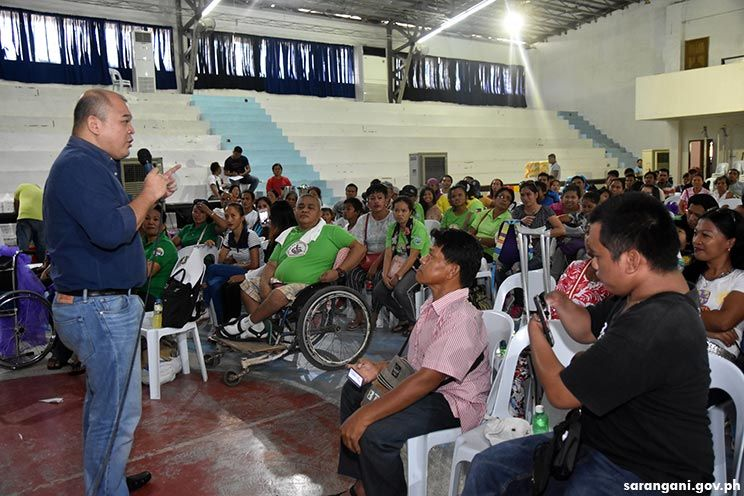 12 wheelchairs for PWDs