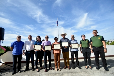 Capitol top officials awarded by PDEA