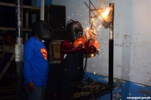 Welding training in Maitum
