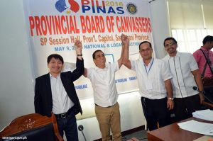 Vice Governor De Peralta proclaimed