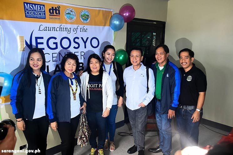 Negosyo Center opens in Kiamba