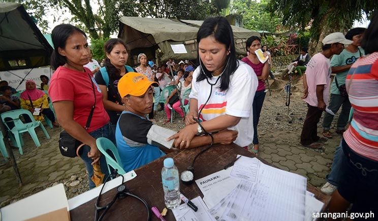 Medical mission by DOH, Sulong Kalusugan