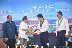 Duque receives China-Aid Philippines DDATRC