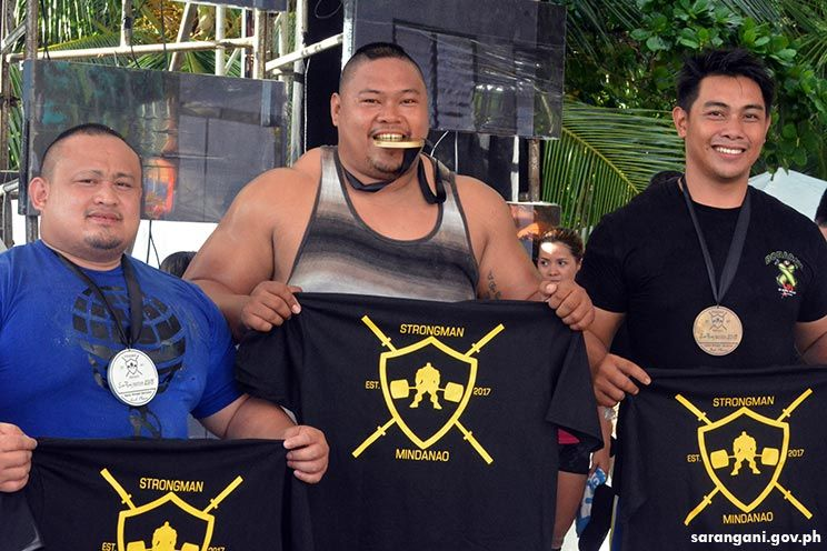 Strongman Philippines winners